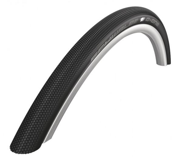 SCHWALBE Fahrradreifen G-One Speed HS 472 27,5 Zoll | ETRTO: 50-584 | Falt | SnakeSkin | schwarz