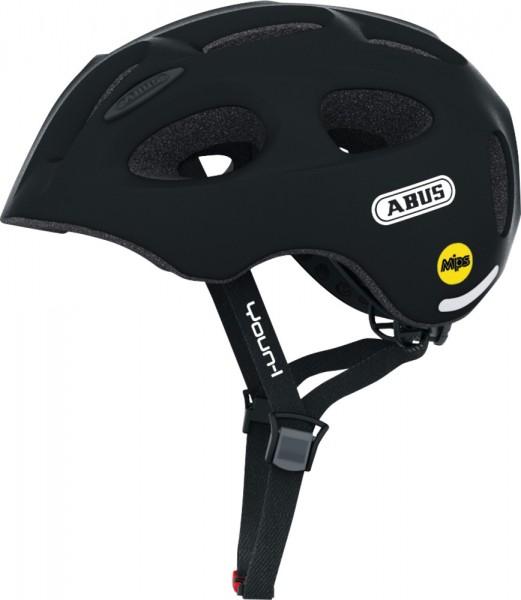 ABUS Fahrradhelm Youn-I MIPS velvet black S Kopfumfang [cm] 48-54