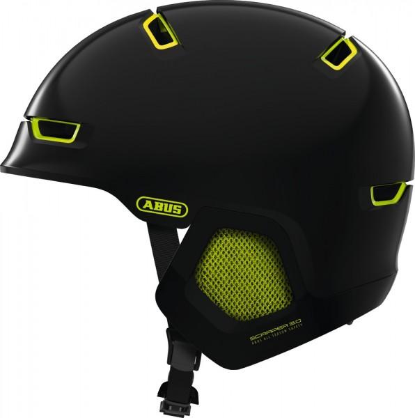 ABUS Fahrradhelm Scraper 3.0 ERA shiny black L