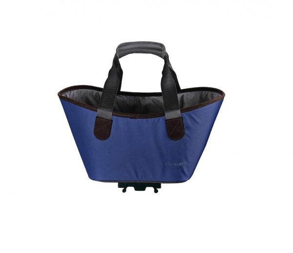 RACKTIME Gepäckträgertasche Agnetha Befestigung: Snapit | berry blue