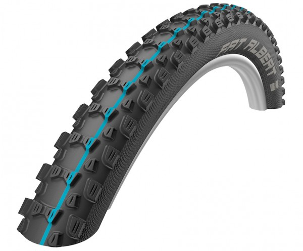 Schwalbe Fahrradreifen FatAlbert Rear ADDIX HS478 schwarz Skin 60-584 27.5x2.35 11600849.01 SpeedG