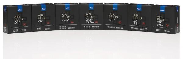 SCHWALBE Fahrradschlauch SV Ventil Air Plus 27,5 Zoll | ETRTO: 40/62-584 | SV | Ventillänge: 40 mm