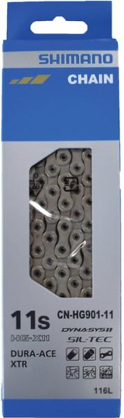 SHIMANO Fahrrad Kette CNHG901-11 Kompatibilität: 11-fach   SB-Verpackung   116 Glieder