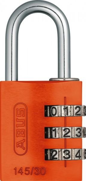 ABUS Fahrradschloss Zahlenschloss 145/30 orange Lock-Tag