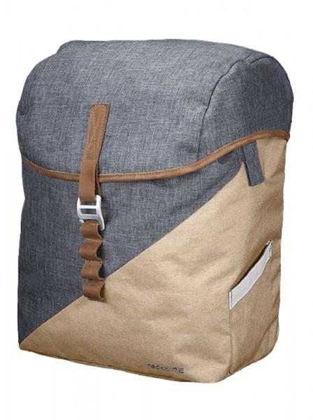 Racktime Einzeltasche Mia desert sand desert sand,31 x 40 x 16 cm,17,5 LIter
