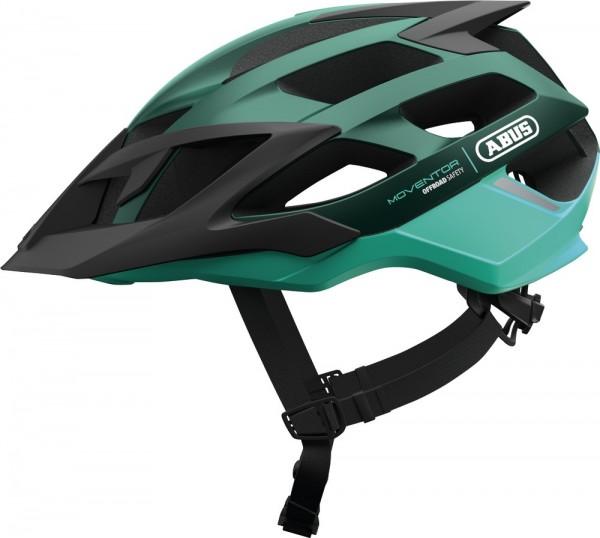 ABUS Fahrradhelm Moventor smaragd green L