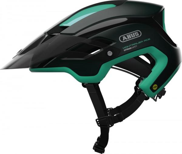 ABUS Fahrradhelm MonTrailer ACE MIPS smaragd green M