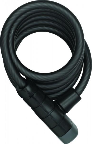 ABUS Spiralkabelschloss Primo 5510K schwarz   Länge: 1800 mm   Durchmesser: 10 mm
