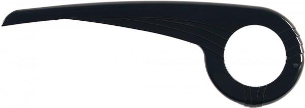 HEBIE Kettenkasten aus ABS Kompatibilität: 33 Zähne | schwarz hochglanzpoliert | Modell: 0340 E1