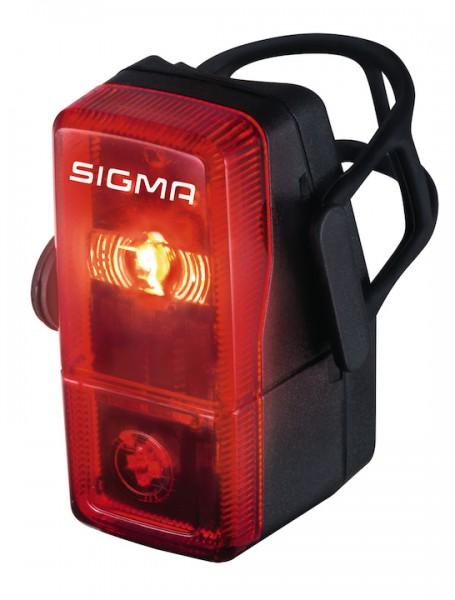 SIGMA LED-Batterierücklicht Cubic schwarz