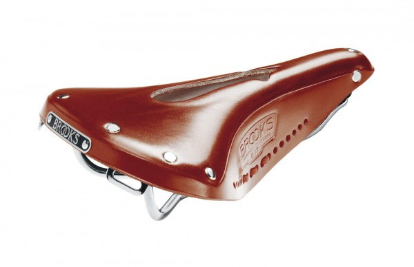 Brooks Leder Sattel B17 S Imperial Standard honig L242 x B176 x H58 mm Damen B211DILA17203 honig,L24