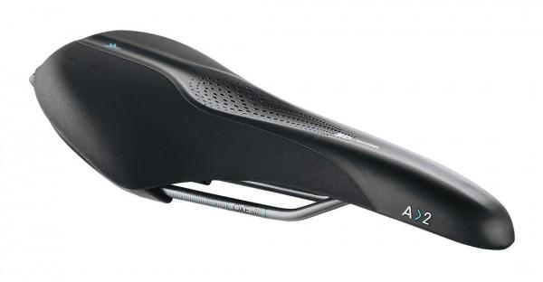 Selle Royal SCIENTIA Sport Sattel A2 Unisex | Athletic 45 | Maße: 289 x 144 mm | schwarz