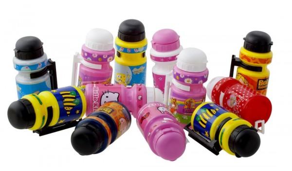 BIKE FASHION Kinder Trinkflasche farblich sortiert Inhalt: 300 ml | farblich sortiert