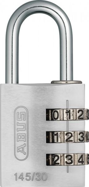 ABUS Fahrradschloss Zahlenschloss 145/30 silber Lock-Tag