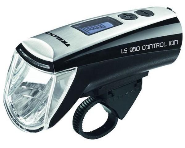 TRELOCK LED Akkufrontleuchte 70 LUX Control ION inkl. Halter ZL 700 (22 - 32 mm) und USB-Kabel | Bef