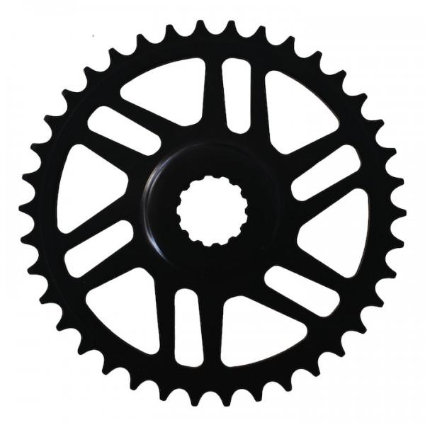 KMC Kettenblatt für Bosch E-Bike Gen 3 44 Zähne | schwarz | Lochkreis: Direct Mount mm | Ausführung: