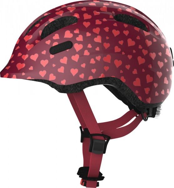 ABUS Fahrradhelm Fahrradhelm Smiley 2.0 cherry heart S