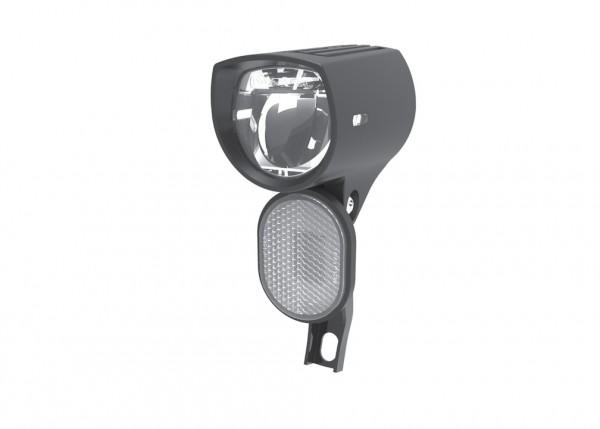 SMART E-Bike LED Scheinwerfer D&E inkl. rostfreie Schrauben   Befestigung: Gabelkrone   schwarz
