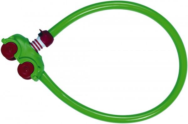 ABUS My first Kinderschloss 15 1505/55 grün | Länge: 550 mm | Durchmesser: 4 mm