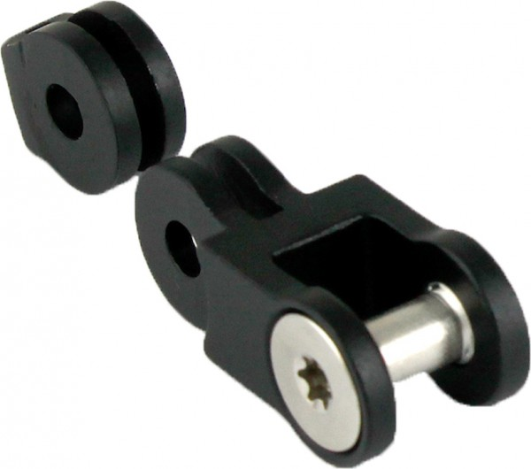 BY.SCHULZ SDS Adapter schwarz-matt | 10mm B6 | für SDS Frontkappe, SDS Link Art.Nr.17643 | 10mm B6