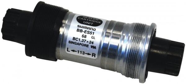 SHIMANO Innenlager BBES51 Octalink Gehäusebreite: 68 mm | Achslänge: 126 mm