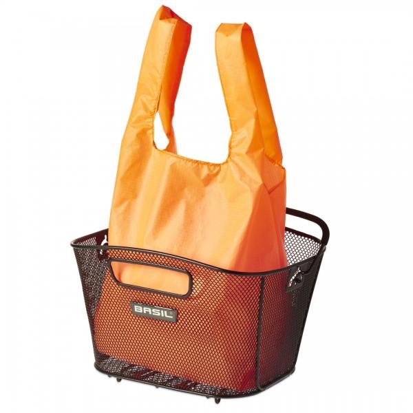 BASIL Keep Shopper für Körbe orange