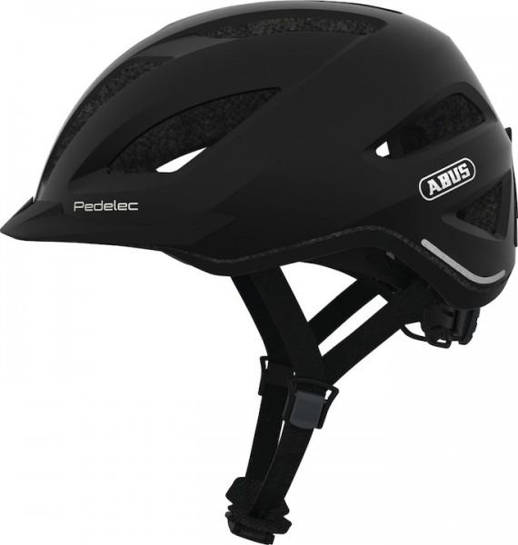 ABUS E-Bikehelm Pedelec 1.1 Größe: L   Kopfumfang: 56 - 62 cm   black edition