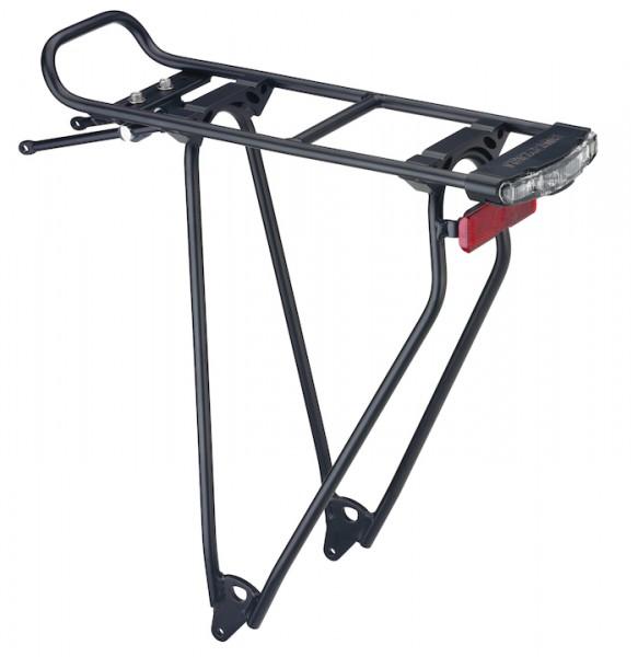 RACKTIME Gepäckträger Standit Shine schwarz | Laufradgröße: 28 Zoll