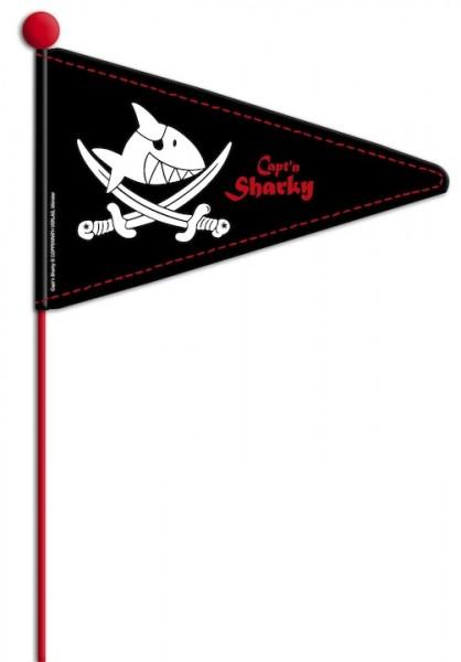 BIKE FASHION Sicherheitswimpel Capt`n Sharky