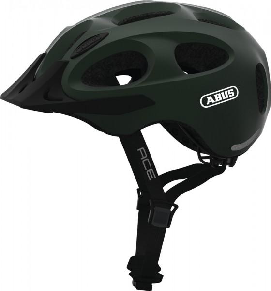 ABUS Fahrradhelm Youn-I ACE metallic green L