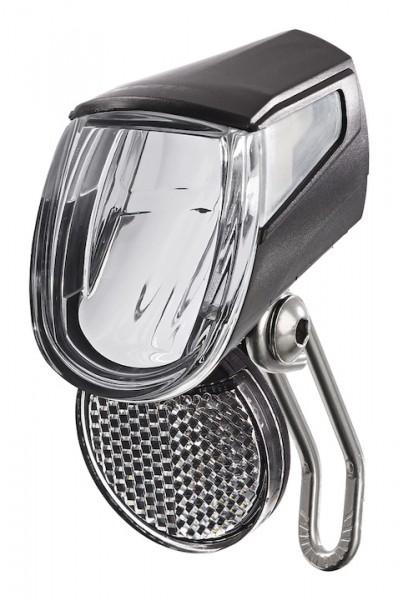 TRELOCK LED-Scheinwerfer LS 430 Bike-i Go E-Bike Befestigung: Gabelkrone   schwarz