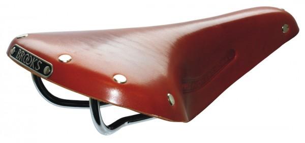Brooks Leder Sattel B17 Classic Standard honig L275 x B175 x H65 mm Herren B211A07203 honig,L275 x B