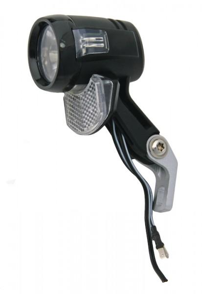 AXA Dynamo-Scheinwerfer Blueline 30 Switch Befestigung: Gabelkrone | schwarz | An-/Ausschalter: Ja |