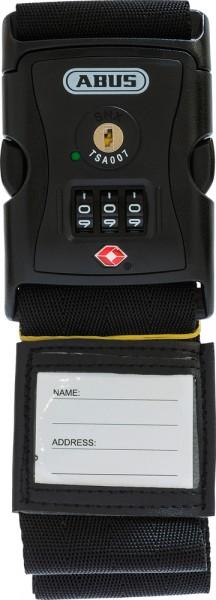 ABUS Kofferband 620TSA/192 schwarz Kofferband