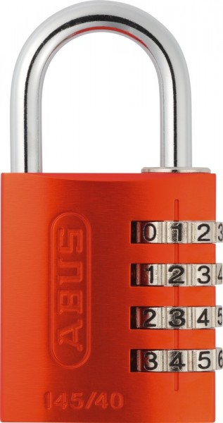 ABUS Fahrradschloss Zahlenschloss 145/40 orange B/DFNLI