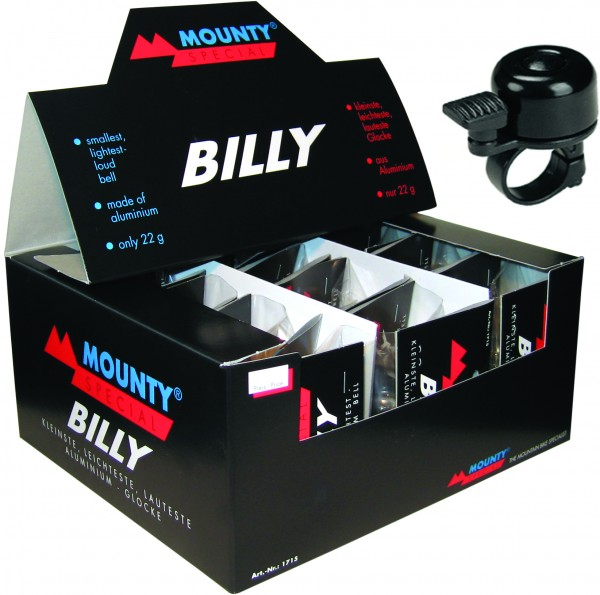 MOUNTY SPECIAL Glockendisplay Billy schwarz sortiert