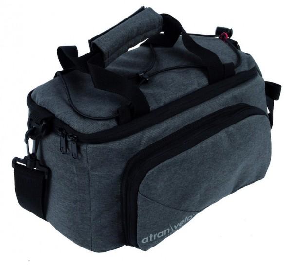 ATRAN VELO Gepäckträgertasche ZAP Top Bag anthrazit grau