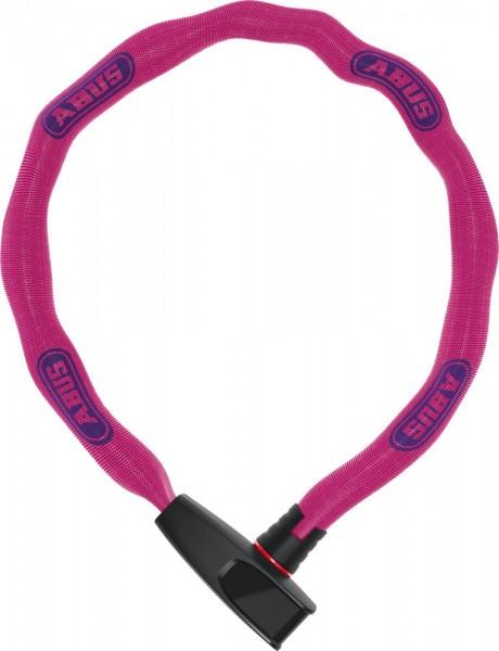ABUS Fahrradschloss KETTENSCHLOSS Catena 6806K/75 Neon pink