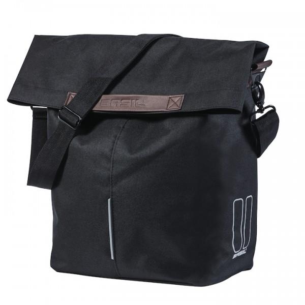 BASIL Einzeltasche City Shopper Befestigung: Hook-On System   schwarz
