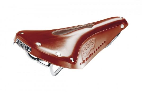 Brooks Leder Sattel B17 Imperial Standard honig L275 x B175 x H65 mm Herren B211 ILA17203 honig,L275