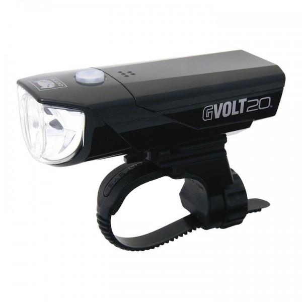 CATEYE LED Batteriefrontleuchte 20 LUX schwarz 20 Lux HL-EL350G schwarz,20 Lux,HL-EL350G