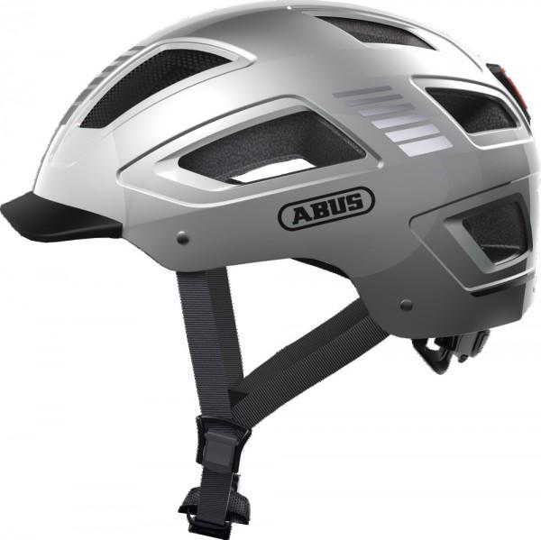 ABUS Fahrradhelm Fahrradhelm Hyban 2.0 Signal silver XL