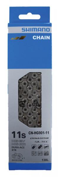 SHIMANO E-Bike Kette CNHG901-11 Kompatibilität: 11-fach | SB-Verpackung | 138 Glieder