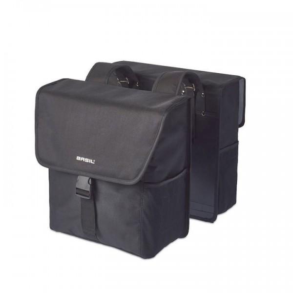 BASIL Doppelpacktasche Go solid black