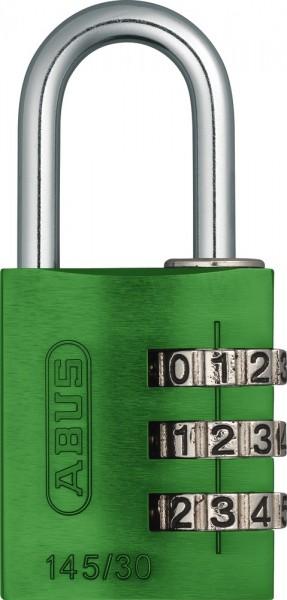 ABUS Fahrradschloss Zahlenschloss 145/30 grün B/DFNLI