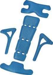 ABUS Fahrradhelm Polsterset Scraper 2.0 blau