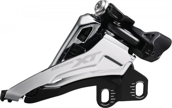 SHIMANO Umwerfer Deore XT FDM8100E Side Swing | Ausführung: 66-69 Grad | 12-fach | Front Pull