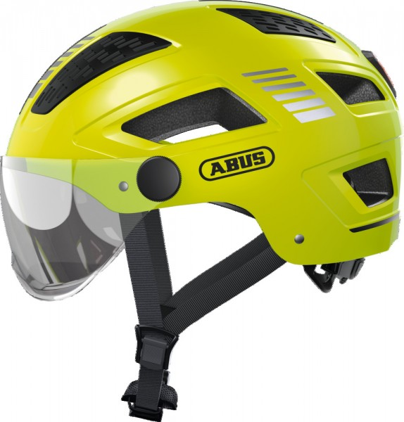 ABUS Fahrradhelm Fahrradhelm Hyban 2.0 ACE signal yellow XL