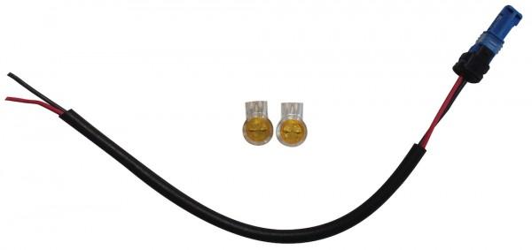 SUPERNOVA Bosch Frontlicht-Anschlusskabel Länge: 200 mm   schwarz
