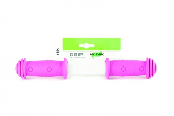 WIDEK Kindersicherheitsgriff Länge: 100/100 mm | rosa | Rubber | Ausführung: lang/lang | SB-Verpacku